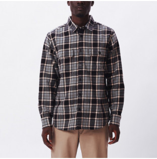 Camisa Obey: Divisions Woven (Black multi) Obey - 1