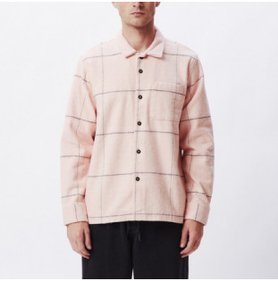 Camisa Obey: Fiasco Woven (Pink multi) Obey - 1