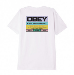 Camiseta Obey: Built to last (White) Obey - 1