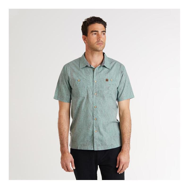Camisa Hippytree: El Cap Woven (Sage)