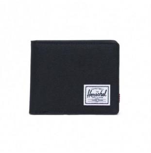 Cartera Herschel: Roy Coin RFID (Black)