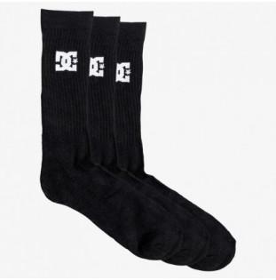 Calcetines DC Shoes: Spp Dc Crew 3Pk (Black)