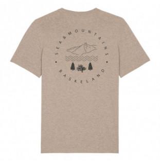 Camiseta Atlas: Itsas & Mendi Tee (Heather Sand) Atlas - 1