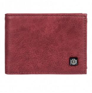 Cartera Element: Segur Wallet (Vintage Red)