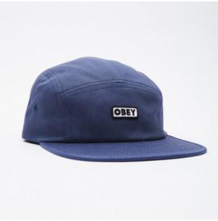 Gorra Obey: Bold Label Camp Hat (Navy) Obey - 1