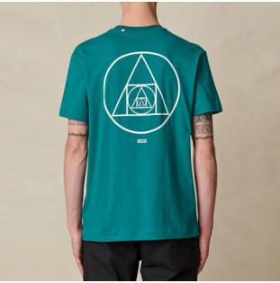 Camiseta Globe: Infinity Stack Tee (Deep Lake)