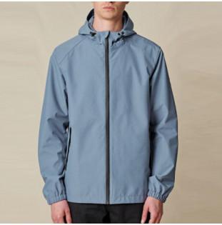 Chaqueta Globe: Breaker Spray Jacket (Slate Blue)