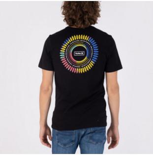 Camiseta Hurley: Everyday Washed Mandala Brah SS (Black)