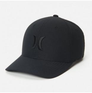 Gorra Hurley: H2O Dri OAO Hat (Black Black)