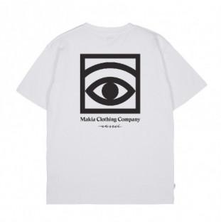 Camiseta Makia: Ogon T Shirt (White)