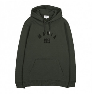 Sudadera Makia: Brand Hooded Sweatshirt (Dark Green)