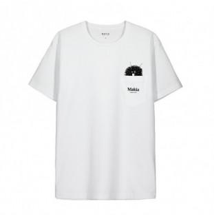 Camiseta Makia: Peek T Shirt (White)