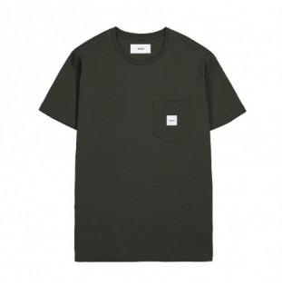 Sudadera Makia: Square Pocket Sweatshirt (Dark Green)