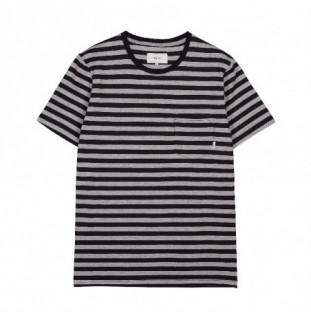 Camiseta Makia: Verkstad T Shirt (Grey-Black)