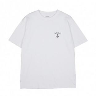 Camiseta Makia: Folke T Shirt (White)