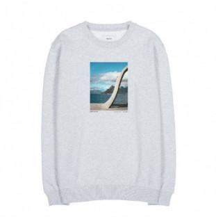 Sudadera Makia: Elements Sweatshirt (Light Grey)
