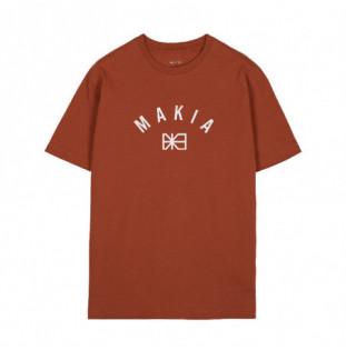 Camiseta Makia: Brand T Shirt (Copper)