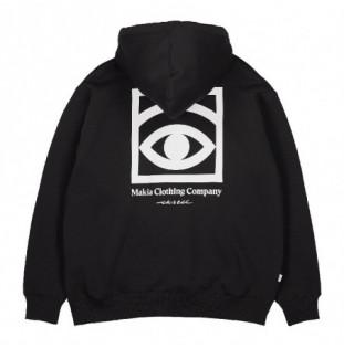 Sudadera Makia: Ogon Hooded Sweatshirt (Black)