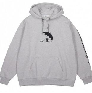 Sudadera Makia: Paraply Hooded Sweatshirt (Light Grey)