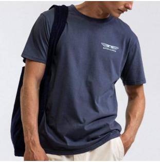 Camiseta Rhythm: Essential Sundown T Shirt (Navy)