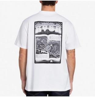 Camiseta RVCA: Battle (White)