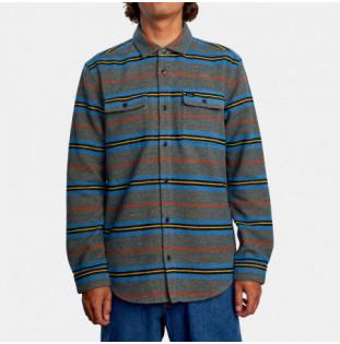 Camisa RVCA: Rvca Blanket LS (Multi)