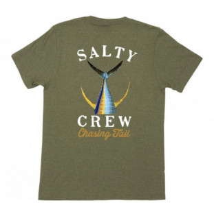 Camiseta Salty Crew: Tailed SS Tee (Forest Heather)