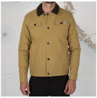 Chaqueta Salty Crew: Bait Barge Jacket (Workwear Brown)