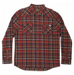Camisa Salty Crew: Westbound LS Flannel (Navy)