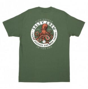 Camiseta Salty Crew: Deep Reach SS Tee (Spruce)