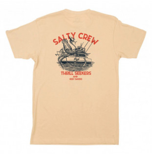 Camiseta Salty Crew: Deepwater Premium SS Tee (Camel)