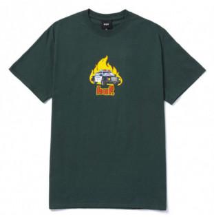 Camiseta HUF: Roasted SS Tee (Dark Green) HUF - 1