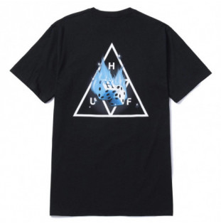 Camiseta HUF: Hot Dice TT SS Tee (Black) HUF - 1