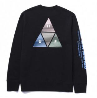Sudadera HUF: Prism TT Crew (Black) HUF - 1