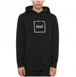 Sudadera HUF: Essentials Box Logo PO Hoodie (Black) HUF - 1