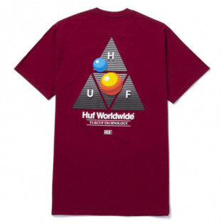 Camiseta HUF: Video Format TT SS Tee (Cardinal) HUF - 1