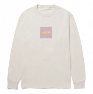 Camiseta HUF: Quake Logo LS Tee (Natural) HUF - 1