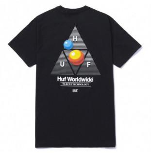 Camiseta HUF: Video Format TT SS Tee (Black) HUF - 1