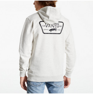 Sudadera Vans: Full Patched Po II (Oatmeal Heather)