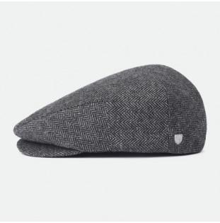 Gorra Brixton: Hooligan Snap Cap (Grey Black)