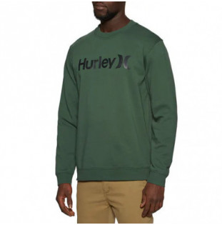 Sudadera Hurley: One And Only Crew (Galactic Jade Black)