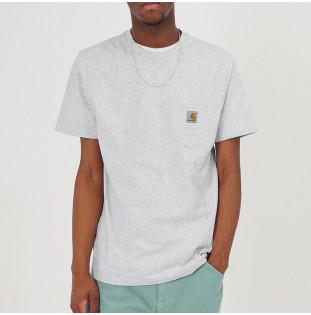 Camiseta Carhartt: SS Pocket T Shirt (Ash Heather) Carhartt - 1