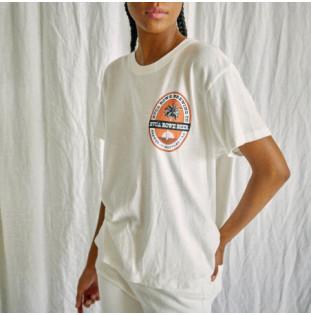 Camiseta RVCA: Rowe Brewing Tee (Vintage White)