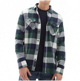 Camisa Vans: Box Flannel Dress (Blues Scarab)