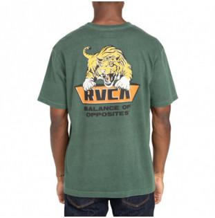 Camiseta RVCA: Clawed (Hunter Green)