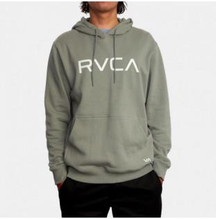 Sudadera RVCA: Big Rvca Hoodie (Aloe) RVCA - 1