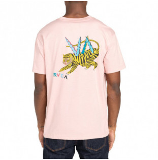 Camiseta RVCA: Ml Tiger (Pale Mauve)