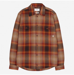 Camisa Makia: Country Overshirt (Copper) Makia - 1