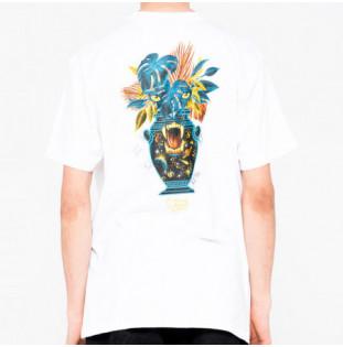 Camiseta Santa Cruz: Tee Asta Cosmic Eyes (White) Santa Cruz - 1