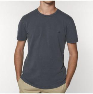 Camiseta Atlas: Vintage Bi Tee (G Dyed Aged India Ink Gy)